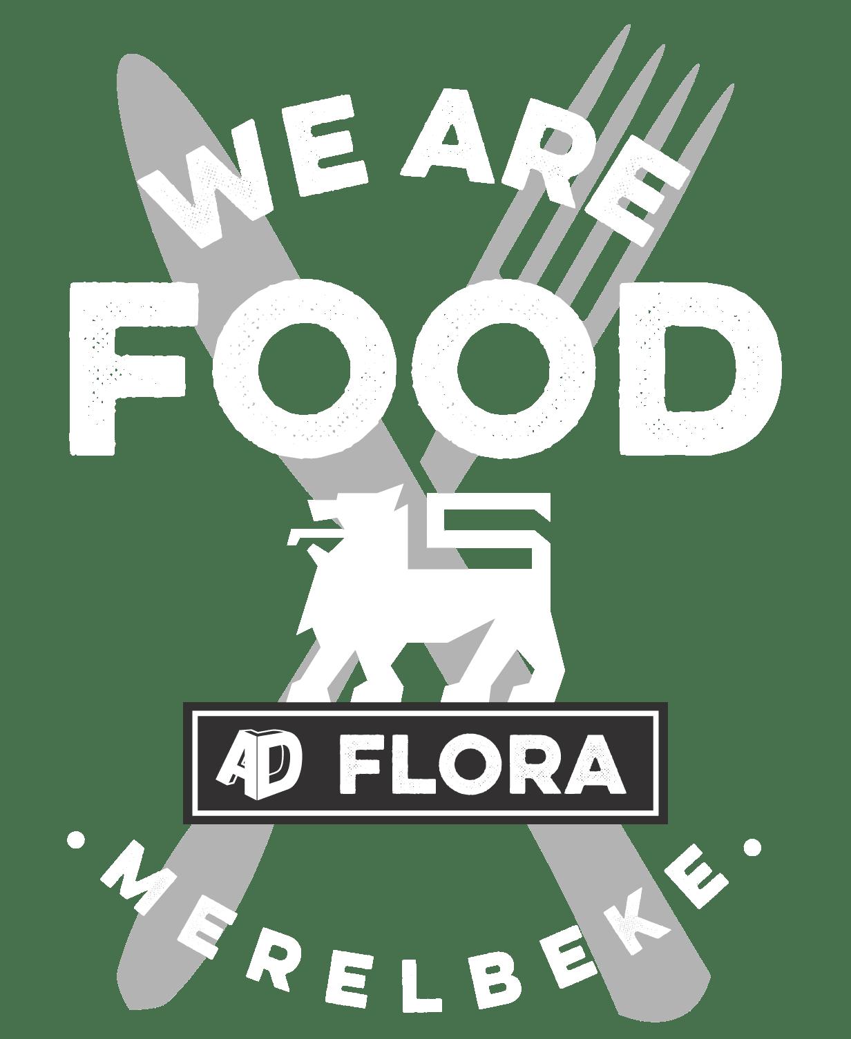 Logo persoonlijke branding AD Flora Merelbeke
